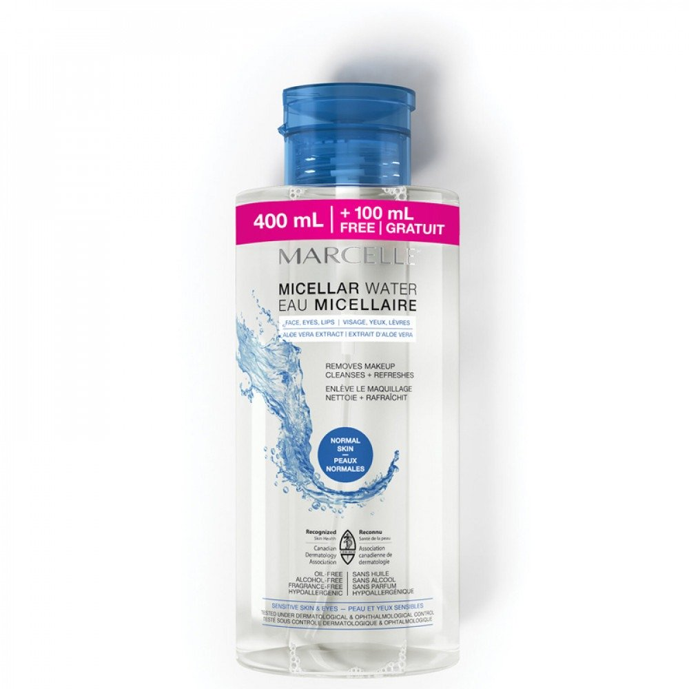 Micellar water - Normal skin Bonus size 500 mL