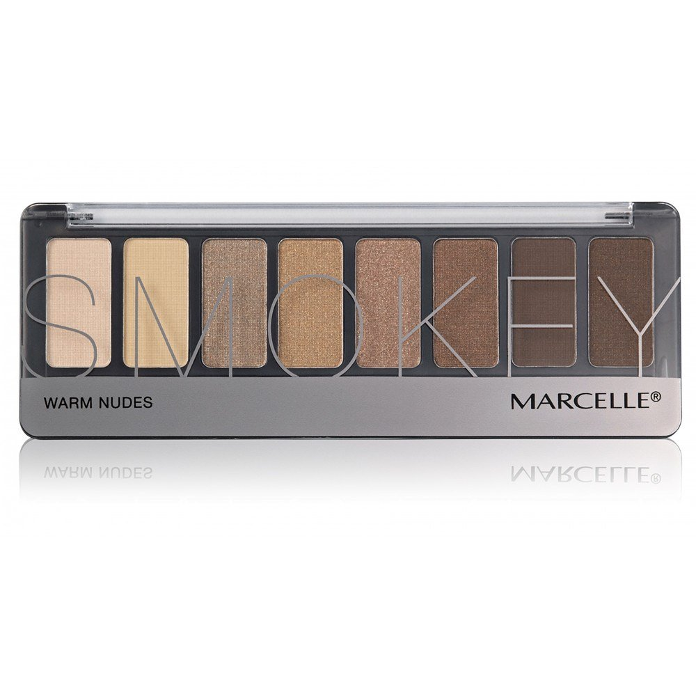 Smokey Eyeshadow Palette - Warm Nudes