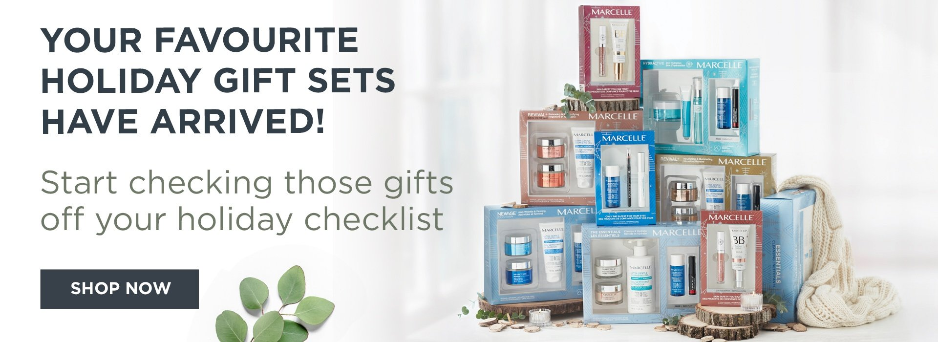 skin care and makeup sets