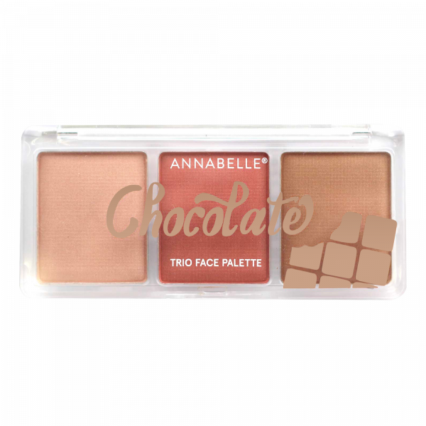 Palette Visage Chocolate Trio - Medium-to-dark