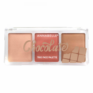 Chocolate Trio Face Palette - Medium-to-dark